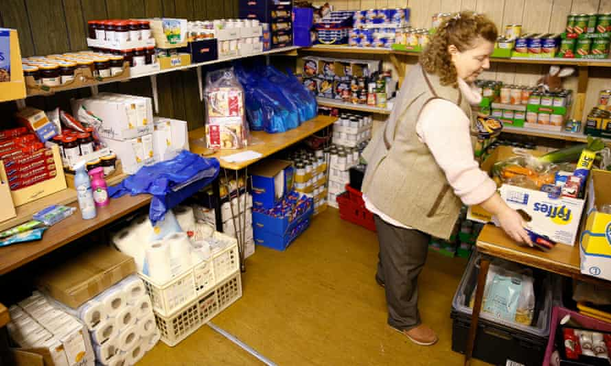 'There's a risk that with news of surging food bank use and children going without beds or clothes, that this type of extreme poverty is becoming normalised.'