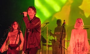 Off-kilter Welsh kiddie-rock … Gruff Rhys with Whyte Horses .