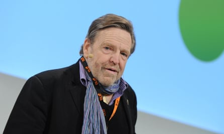 John Perry Barlow in 2014. He was one of the first to understand that, in an information economy, value is driven not by scarcity but by familiarity.