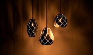 Moroccan lamps cluster, by Samuel Bellamy