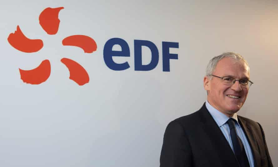 EDF boss Jean-Bernard Levy