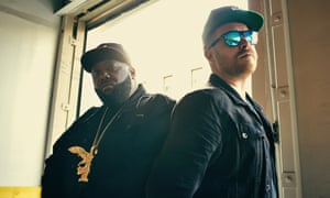 Jewel identity: Killer Mike and El-P.