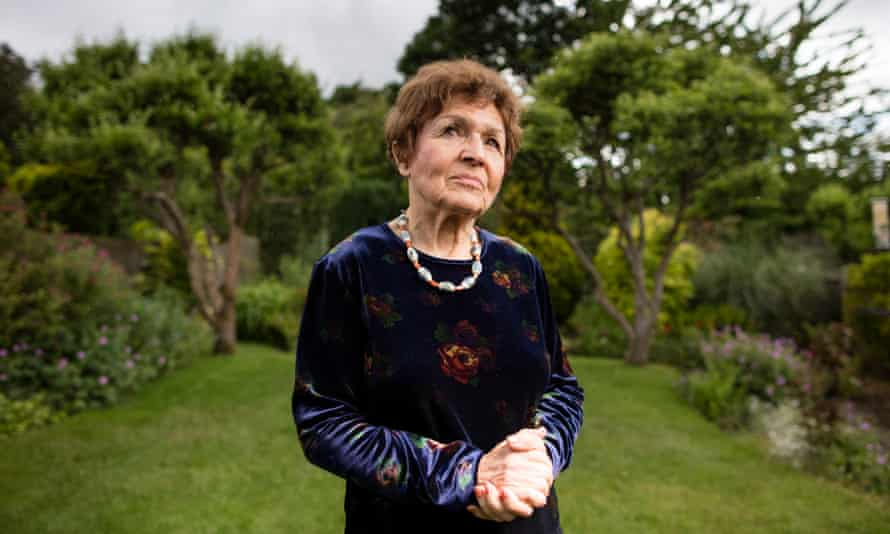 Janine Webber, one of the Holocaust survivors in the UK who have recorded their stories.