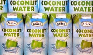 Grace coconut water.