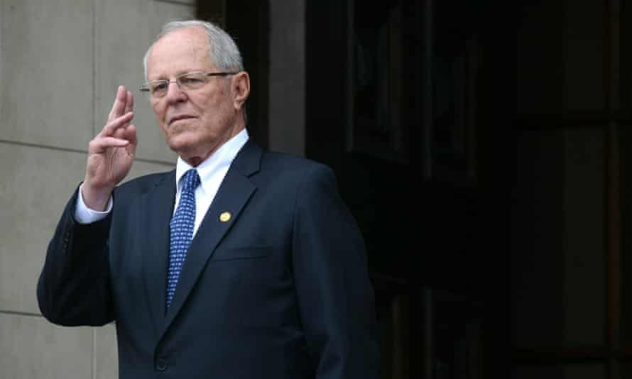 Pedro Pablo Kuczynski has offered his resignation just 19 months into his five-year mandate. It has yet to be accepted by the congress.