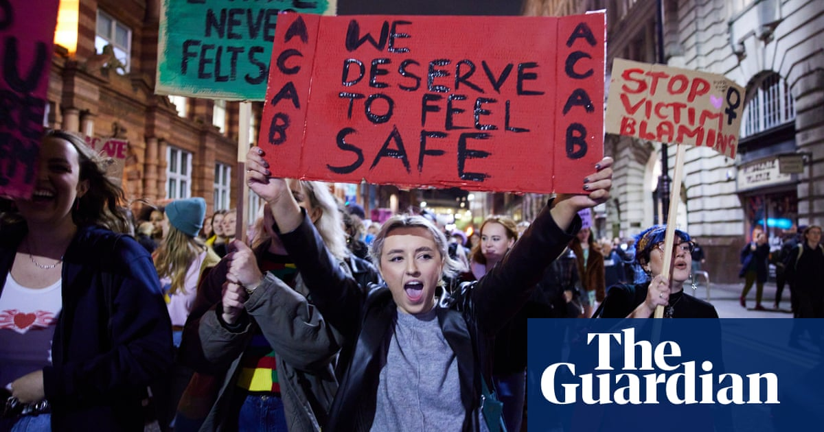 Demonstrators take to streets across UK to protest against 'spiking epidemic'