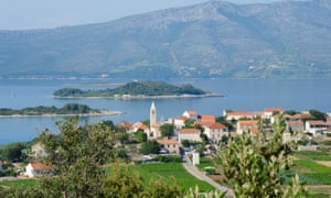 The village of Lumbarda.