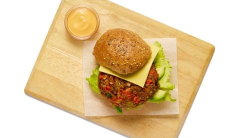 How to make a vegan beanburger