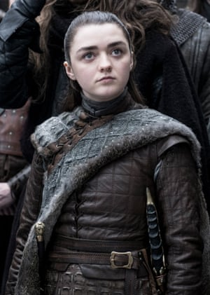 Plenty of callbacks for those who have stayed the distance ... Arya Stark.