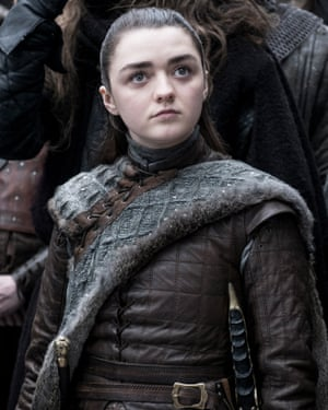 Which one of Arya's foes will meet a needly end?