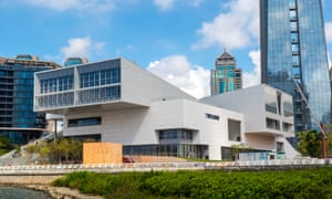 'Please, no more weird buildings' … the new outpost in Shenzhen, which is so straightforward it verges on dull.