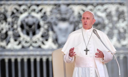 Pope Francis said in 2017 that the prayer should be altered.