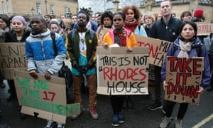 Campaigners want a statue of the British imperialist Cecil Rhodes in Oxford to be removed.