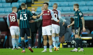 Grealish appealing for a penalty