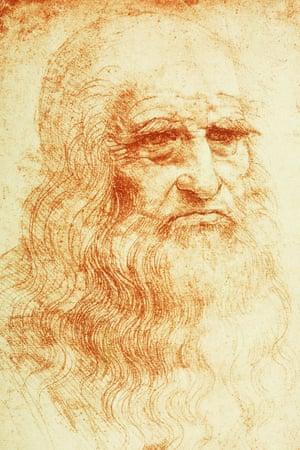 Self-Portrait, c1512, by Leonardo da Vinci.
