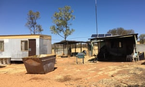 A town camp outside Alice Springs
