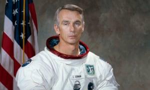 Gene Cernan was the commander of the final Apollo lunar landing mission in 1972.