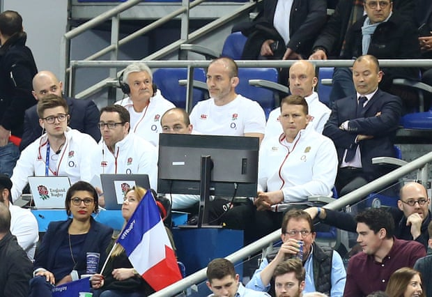 Tough viewing for Eddie Jones and England in Paris.