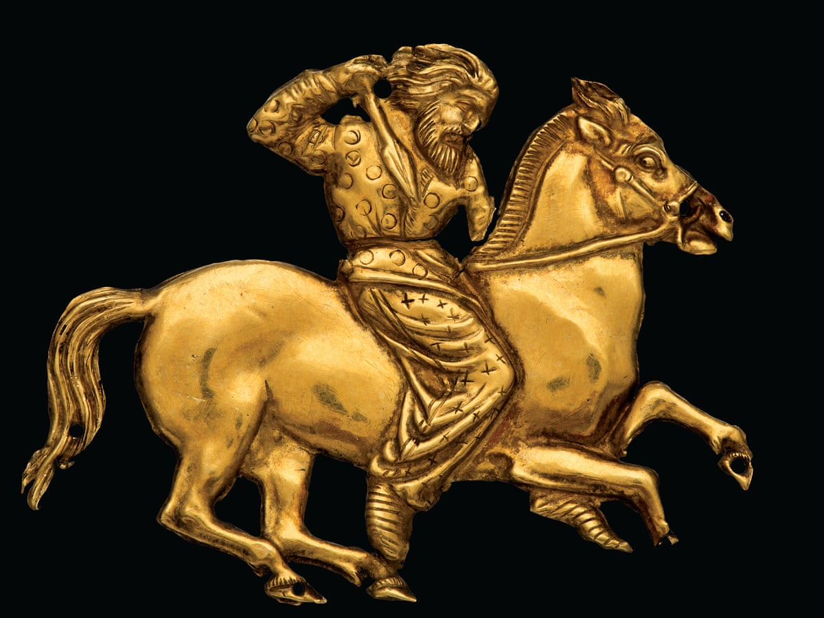 Scythians review – wine, weed and war as the Siberian nomads charge into  battle | Art and design | The Guardian