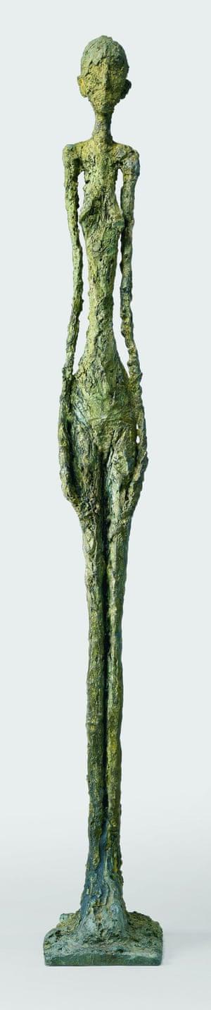 Standing Woman I (1960) by Alberto Giacometti
