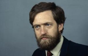 Jeremy Corbyn in a photo from 1986