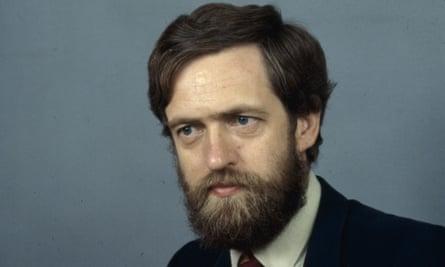 Jeremy Corbyn in 1986.