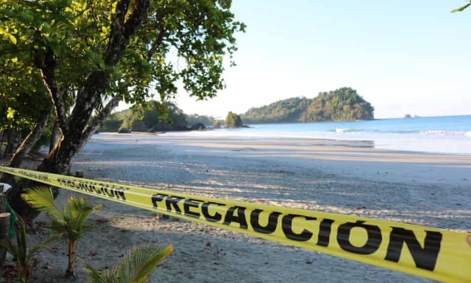 Espadilla beach, Costa Rica