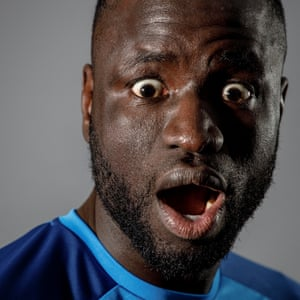 Cheikhou Kouyate, the Crystal Palace and Senegal footballer