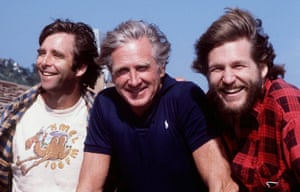 The Bridges family … Beau, father Lloyd and Jeff in 1980.