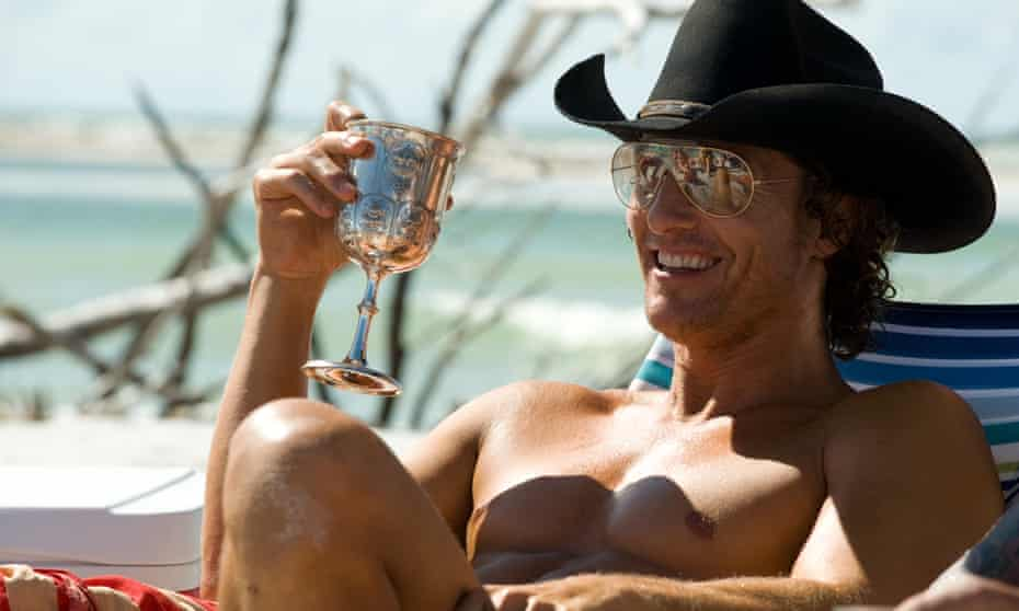 Livin the dream … Matthew McConaughey in Magic Mike