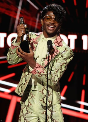 Lil Nas X wins the top Hot 100 song award for Old Town Road