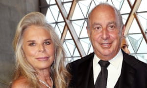 Lady Tina and Sir Philip Green.