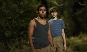 Aaron McGrath and Levi Miller in Jasper Jones