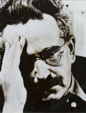 """Walter Benjamin ... 'the """"modern"""" [is] the time of hell' the Frankfurt School leader wrote. Photograph: Alamy"""