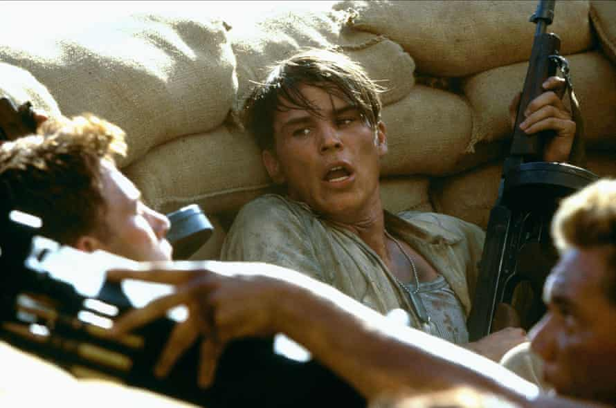 With Ben Affleck in Pearl Harbor.