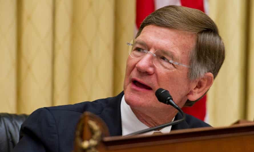 Lamar Smith, who chairs the House science committee, has demanded that Noaa hand over all internal correspondence between scientists to find out if there has been a conspiracy to alter or misrepresent data.