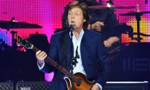 Paul McCartney in 2015.