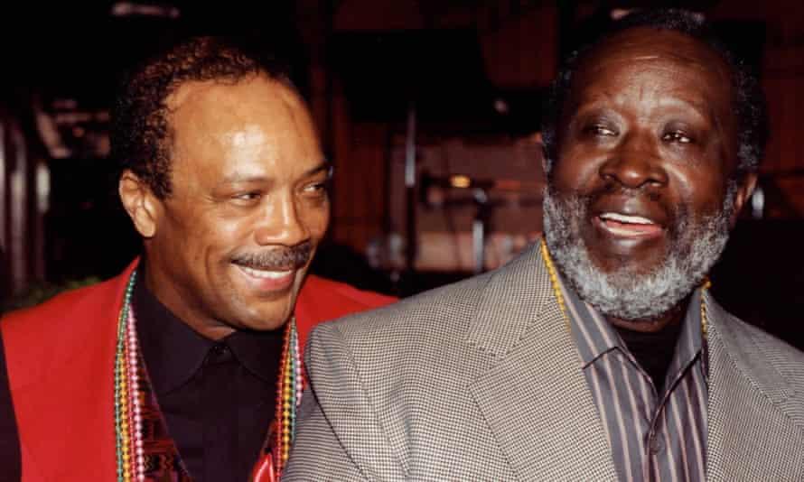 Quincy Jones and Clarence Avant.