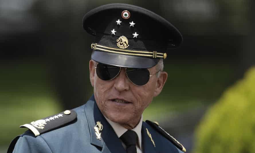 Gen Salvador Cienfuegos in Mexico City on 14 September 2016.