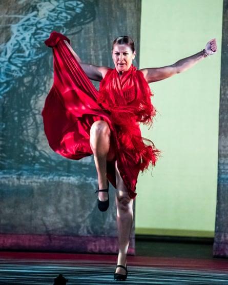 Sara Baras in Sombras by Ballet Flamenco at Sadler's Wells