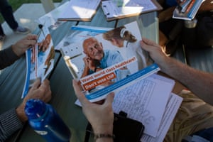 GetUp volunteers are going back to homes where voters indicated they were undecided