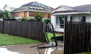 Damage seen in Bowen on Wednesday
