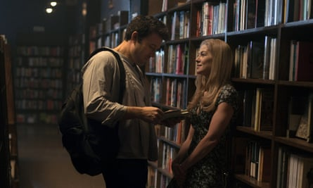 Ben Affleck and Rosamunde Pike in the film version of Gone Girl.
