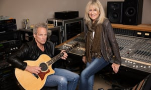 Weary, but moments of brightness shine through … Lindsey Buckingham and Christine McVie.