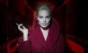 Femme fatale … Margot Robbie in Terminal.