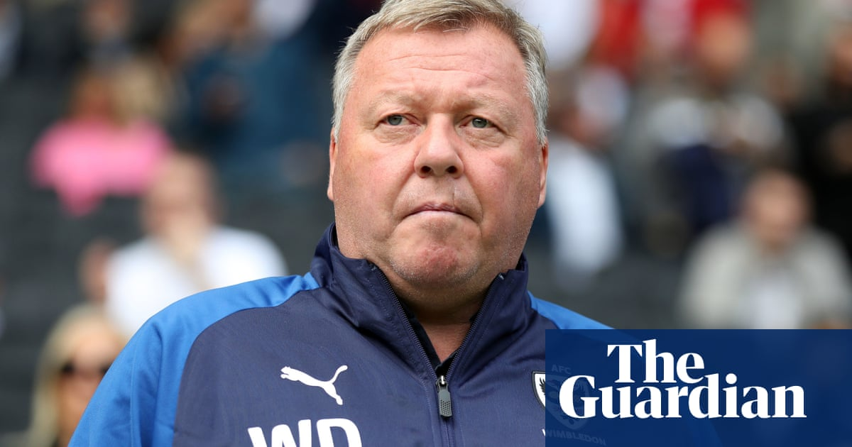 AFC Wimbledon suspend manager Wally Downes after FA betting charge