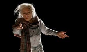 Flying colours … Juliet Stevenson as Emily Stilson in Arthur Kopit's Wings.