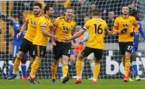 Ryan Bennett and Wolves celebrate again.