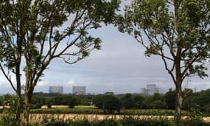 General view of Hinkley Point A Magnox nuclear power station (left) and Hinkley Point B power station (right) in Somerset.