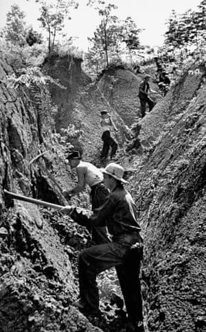 Civilian Conservation Corps was established in 1933 by the U.S. Congress as a measure of the New Deal program and provided work and vocational training for men.